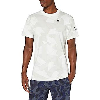 G-STAR RAW Tape Camo AOP T-Shirt, Cold Grey Camouflage Tape C334-B873, XX-Small Man