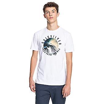 Quiksilver Ocean of Night - T-Shirt for Men - T-Shirt - Manner - XL - Weiss