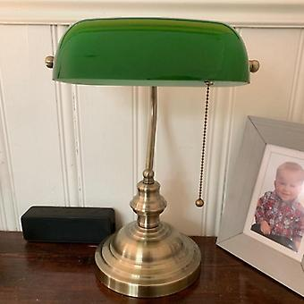 Glass Banker Lamp Cover/banqueros Lamp Glass Shade