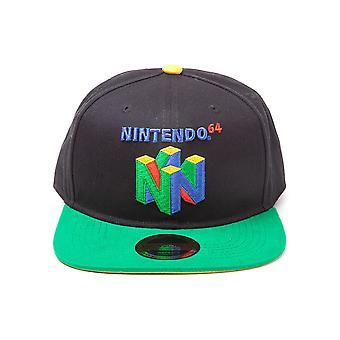 Nintendo - Original N64 Logo Snapback Baseball Cap