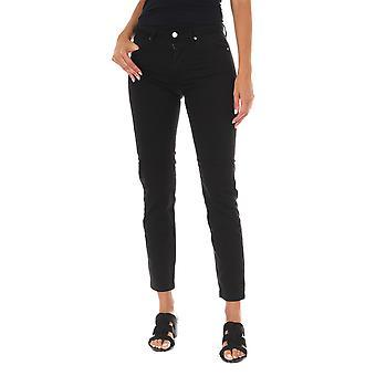 MET pantalones de mujer Nebraska negro