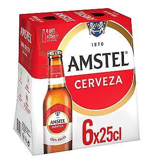 Øl Amstel (6 x 25 cl)