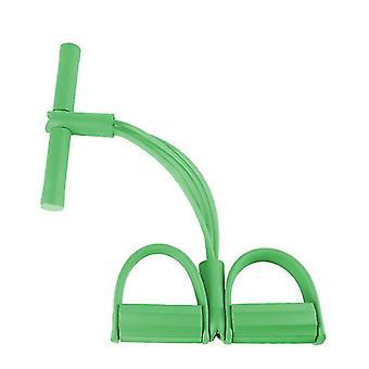 Vihreä monitoiminen fitness jooga elastinen veto köydet nauhat az12019