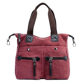 Moda donna tela borsa a tracolla casual tasche borsa a tracolla grande capacità vintage borsa a tracolla