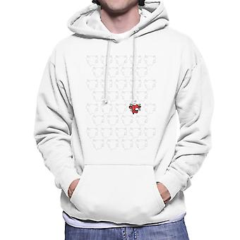 The Laughing Cow Silhouettes Men's Hooded Sweatshirt