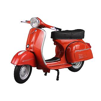 1:18 Roman Holiday Piaggio Pedal Motorcycle Simulation Alloy Sports Car Model Toys
