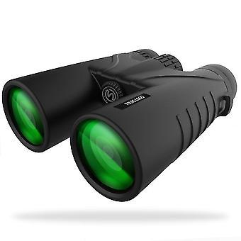 Powerful Adult Binoculars, slopehill 12x42 Compact Binoculars with FMC Lens, Anti-fog and