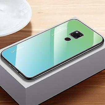 Caja única de vidrio templado a prueba de golpes para Huawei Y9 2019 - Verde