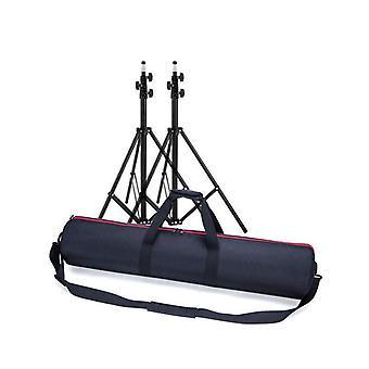 Vedenpitävä iskunkestävä säilytys Kuljeta matkalaukku Laukku jalustalle Valoteline 65CM * 18CM