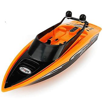 3323 4 Channel Remote Control Rowing RC Boat (Orange)