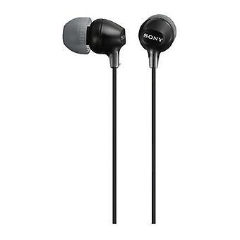 Headphones Sony MDR EX15LP in-ear Black