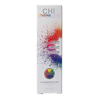 Permanent Dye Chi Chroma Shine Farouk Dangerously Red (118 ml)