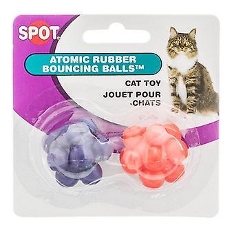 Spot Spotnips Atomic Bouncing Balls Cat Toys - 2 Pack