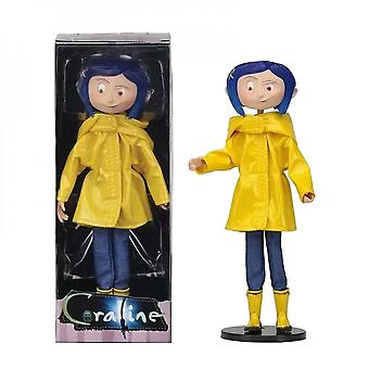 Hywell 7 Inch Ghost Mother Caroline Raincoat Version Real Clothes Boxed Figure