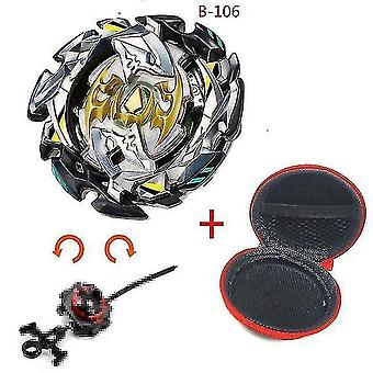 Spinning tops 5 beyblade burst sparking turbo b48 launcher  metal top gyro blade blade spinning fight toys b106