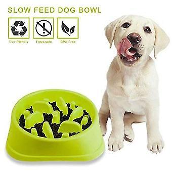 Antypoślizgowa miska z karmą dla zwierząt domowych labirynt - promuje zdrową dietę i powolne trawienie