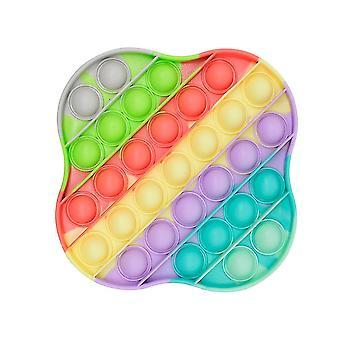 Beräkningsträning Push Pop Bubble Silikon Sensorisk Anti Stress Leksak