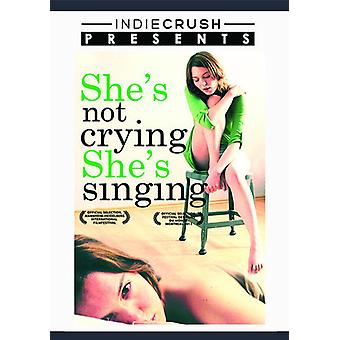 She's Not Crying She's Singing [DVD] USA import