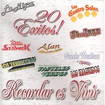 Recordar Es Vivir 20 Exitos - Recordar Es Vivir 20 Exitos [CD] USA 輸入