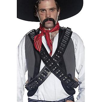 Ammuksia kasetti vyö Länsi kasetti vyö cowboy puku