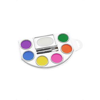 Maquiagem paleta Maquiagem Maquiador Bodypaint 6 cores maquiagem