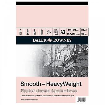 Daler Rowney HeavyWeight Cartridge Gummed Pad A3