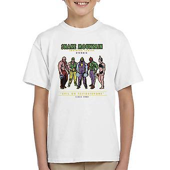 Snake Mountain Training Centre Eternia Skeletor Kid's T-Shirt