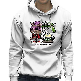 Lil Bebop i Rocksteady Teenage Mutant Ninja Turtles męska Bluza z kapturem