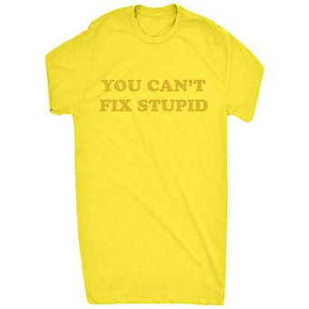 Renowned You cant fix stupid