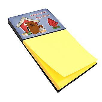 Собака дом коллекции Чау красный записки держатель