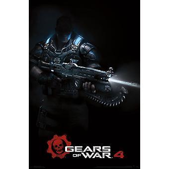 Gears of War 4 - Teaser Poster Art Poster Print