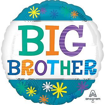 Anagram 18 Inch Big Brother Stars Circle Foil Balloon