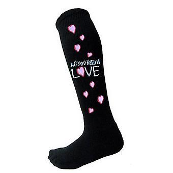Beatles, tarvitset virallisen naisten musta polvi korkea sukat (UK koon 4-7)