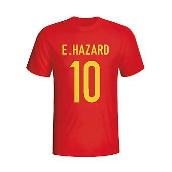 Eden Hazard Belgium Hero T-shirt (red) - Kids