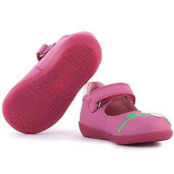 アガサ ルイス デ ラ プラダ メルセデス 162916BFUCSIA 普遍的な幼児靴