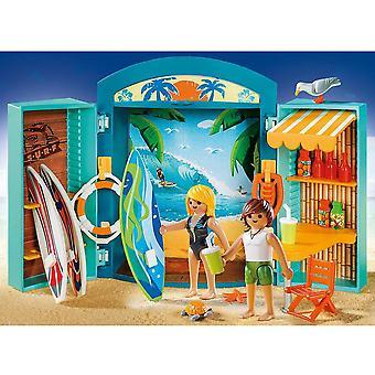 PLAYMOBIL Surf Shop Play Box
