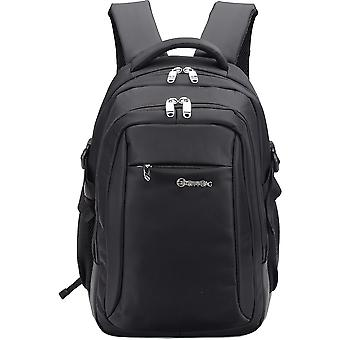 "City Bag Waterproof Business Laptop Backpack Fits PC Up To 15.6"" Work College"