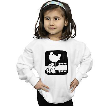 Вудсток девочек гитара логотип Толстовки