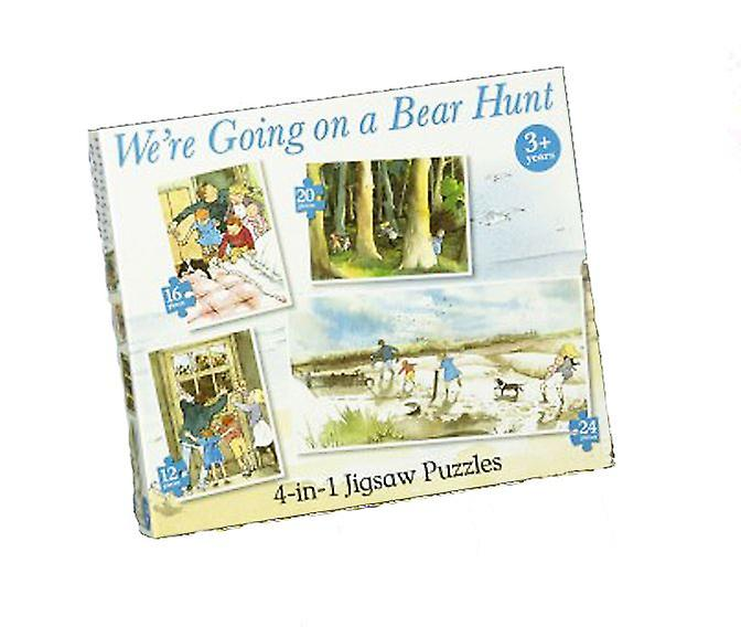 We're Going On a Bear Hunt 4 in 1 Jigsaw Puzzles