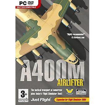 A400M Airlifter (toevoegen op voor FS 2004) (PC DVD)-nieuw