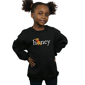 Disney Mädchen Winnie The Pooh Honig Sweatshirt
