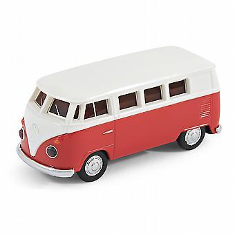 فولكس فاجن الرسمية العربة الحافلة فإن ذاكرة USB عصا 8 غيغابايت--الأحمر