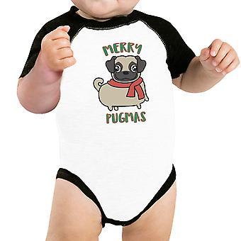 ペットのためのメリー Pugmas パグ面白いグラフィック ペット シャツ クリスマス衣装