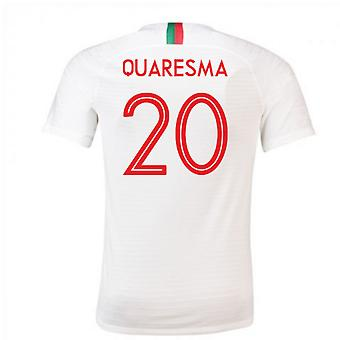 2018 / 2019 Portugal Away Nike Fußballtrikot (Quaresma 20)