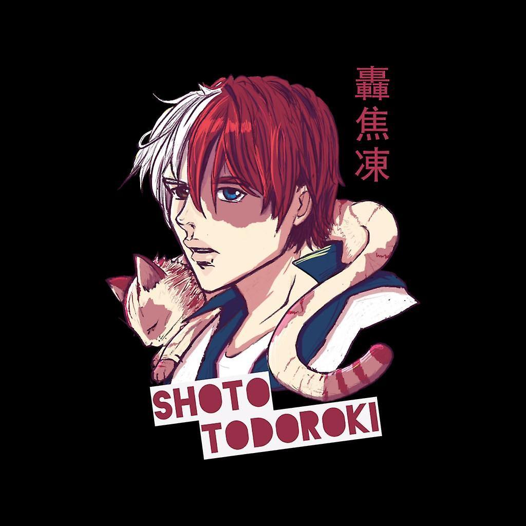 My Hero Academia Shoto Todoroki Men S Varsity Jacket