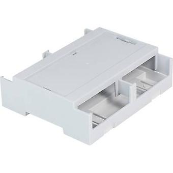 Axxatronic CDIB/6ST/L2-KIT-CON DIN rail casing Cover (gray) 106.2 x 100 x 31.9 Polycarbonate (PC) Grey 1 pc(s)