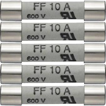 Fuse testo 0590 0005 Multimeter fuse 5pc set of spare fuses 10 A/600 V, 0590 0005