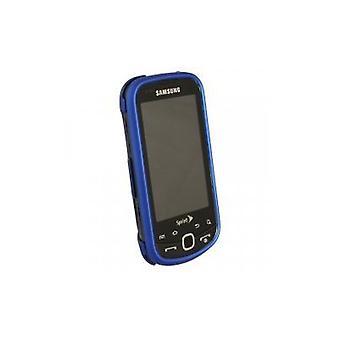 Samsung M910 Intercept Rubberized Snap-On Case (Dark Blue)