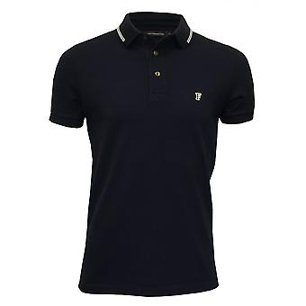 French Connection getipt Pique poloshirt, Navy