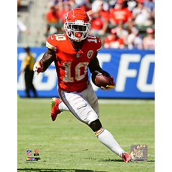 Tyreek Hill 2018 Action Photo Print